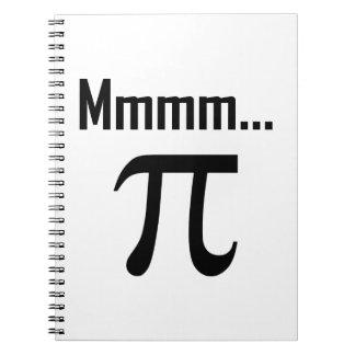 Mmm Pi Symbol Nerd Funny Notebooks
