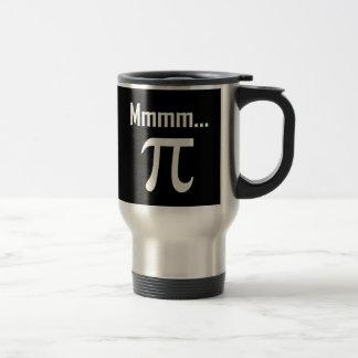 Mmm Pi Symbol Nerd Funny Travel Mug