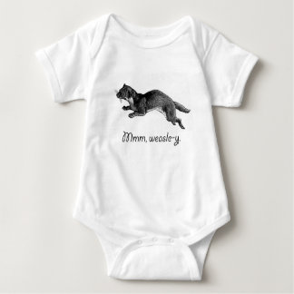 Mmm, weasle-y baby bodysuit