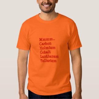 Mmmm…Chocolate. Chemistry Style Tshirt