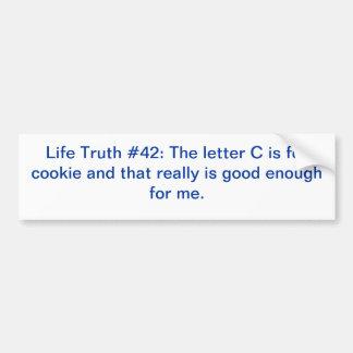 Mmmm! Cookies! Bumper Sticker