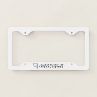 MMNH Blue Elephant License Plate Frame