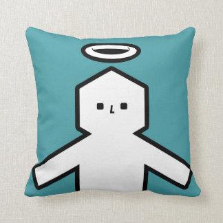 """Mmoman - Saint"" Throw Pillows"