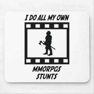 MMORPGs Stunts Mouse Pads