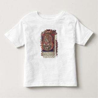 Mms 9961-2 Historiated Initial 'B' from the Peterb Toddler T-shirt