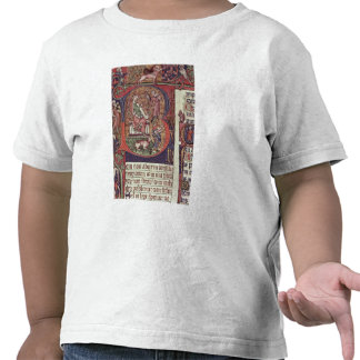 Mms 9961-2 Historiated Initial 'B' from the Peterb T-shirts