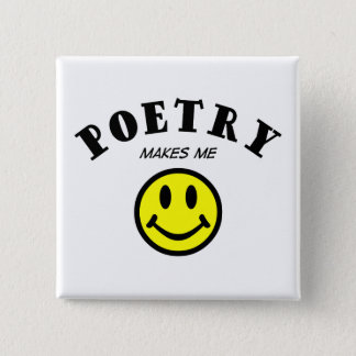 MMS:  Poetry 2 Inch Square Button