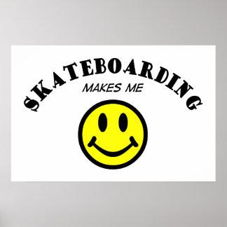 MMS: Skateboarding Poster