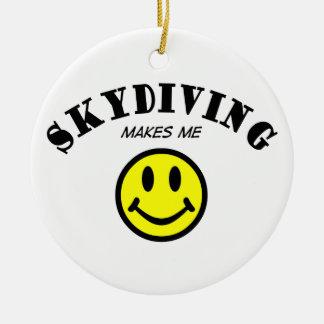 MMS: Skydiving Ceramic Ornament
