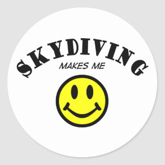 MMS: Skydiving Classic Round Sticker