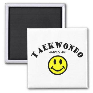 MMS: Taekwondo Square Magnet