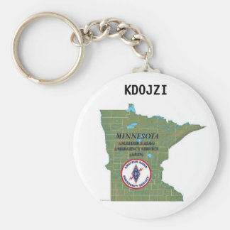 MN ARES KEYCHAIN WITH CALLSIGN