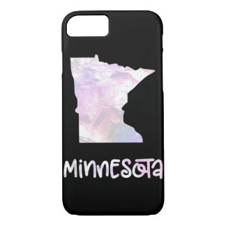 MN Minnesota State Iridescent Opalescent Pearl iPhone 8/7 Case