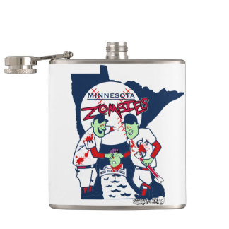 MN Zombies Flask