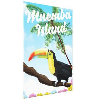 Mnemba Island Canvas Print