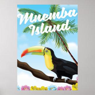Mnemba Island Poster