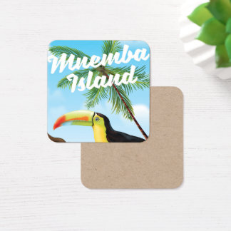 Mnemba Island Square Business Card