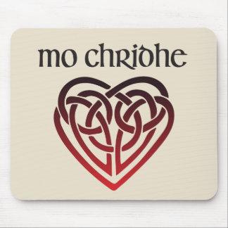 Mo Chridhe - My Heart in Scottish Gaelic Mouse Pad