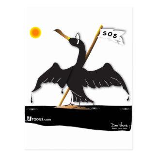 Mo the Cormorant Postcard