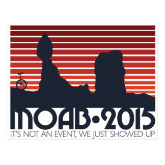 Moab 2015 Postcards - red