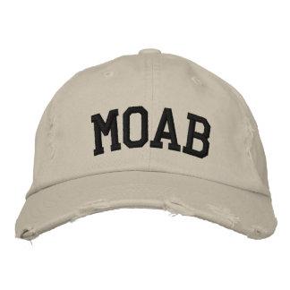 Moab a brodé le casquette casquettes de baseball brodées
