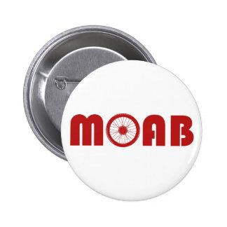 Moab (Bike Wheel) 2 Inch Round Button