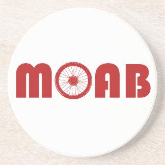 Moab (Bike Wheel) Drink Coaster