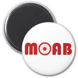 Moab (Bike Wheel) Magnet