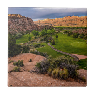 Moab Desert Canyon Golf Course at Sunrise Tile