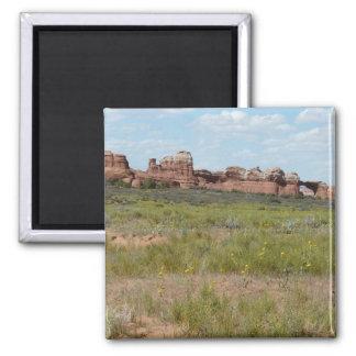 moab scenery magnet