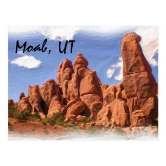 Moab, UT postcard