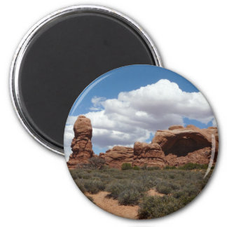 moab utah arch magnet