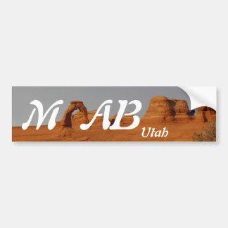Moab, Utah Car Bumper Sticker