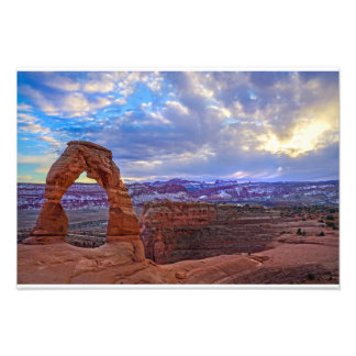 Moab Utah - Delicate arch Photo Print