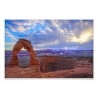 Moab Utah - Delicate arch Photograph