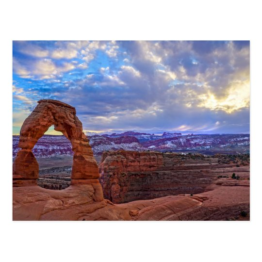 Moab Utah - Delicate arch - Post Card
