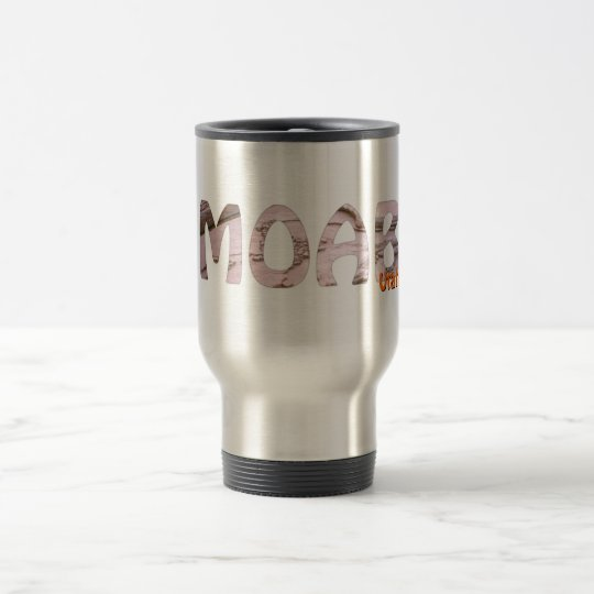 Moab, Utah Travel Mug