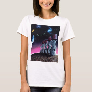 Moai on the Small Planet T-Shirt