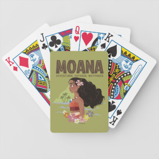 Moana | Adventurer, Voyager, Wayfinder Bicycle Playing Cards