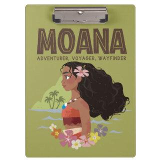 Moana | Adventurer, Voyager, Wayfinder Clipboard