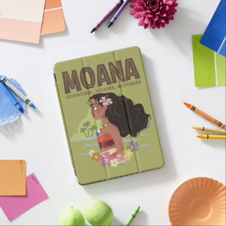 Moana | Adventurer, Voyager, Wayfinder iPad Air Cover