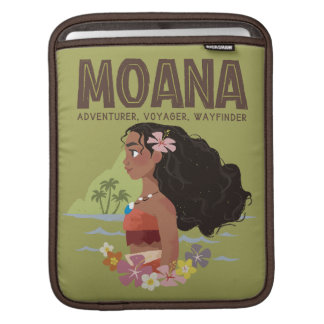 Moana | Adventurer, Voyager, Wayfinder iPad Sleeve