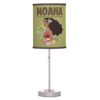 Moana   Adventurer, Voyager, Wayfinder Table Lamp