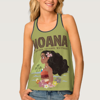 Moana | Adventurer, Voyager, Wayfinder Tank Top