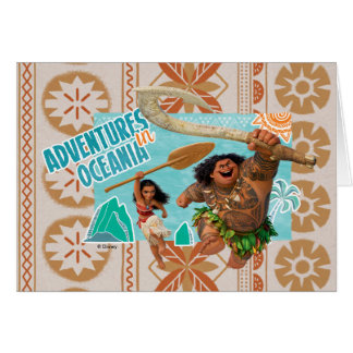 Moana | Adventures In Oceania Card