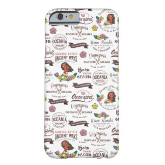 Moana | Bold Adventurer Pattern Barely There iPhone 6 Case