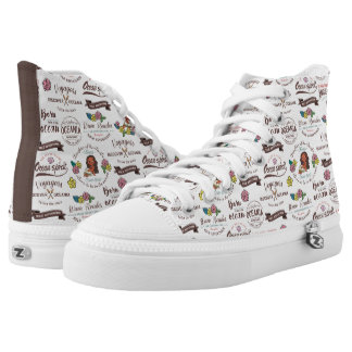 Moana | Bold Adventurer Pattern High Tops