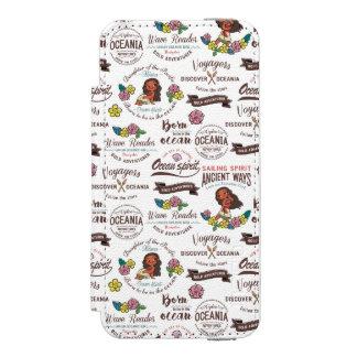 Moana | Bold Adventurer Pattern Incipio Watson™ iPhone 5 Wallet Case