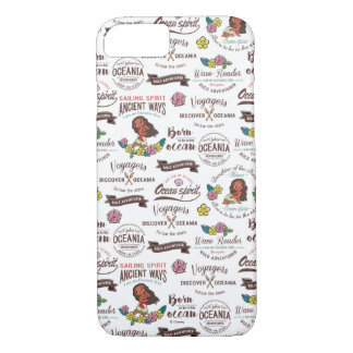 Moana | Bold Adventurer Pattern iPhone 8/7 Case