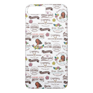 Moana   Bold Adventurer Pattern iPhone 8 Plus/7 Plus Case